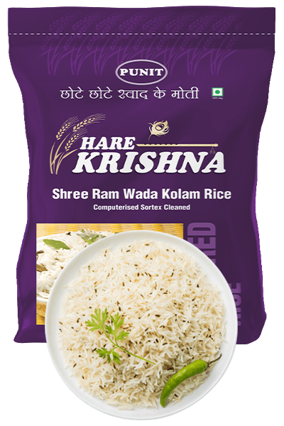 Punit–Hare Krishna Shree Ram Wada Kolam Rice
