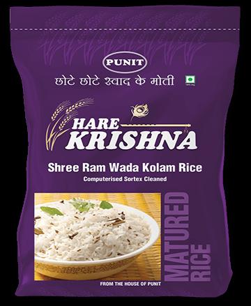 Punit–Hare Krishna Shree Ram Wada Kolam Rice