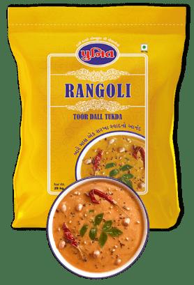 Rangoli Toor Dal Tukda