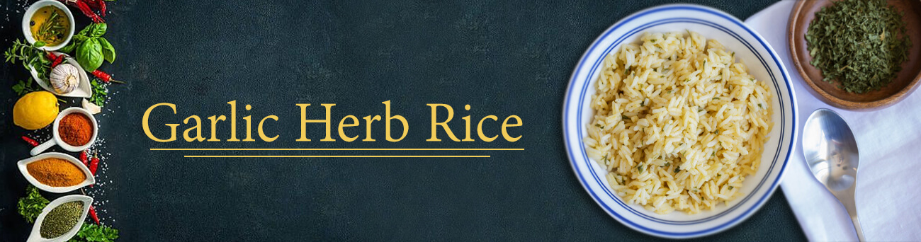 Garlic Herb Rice