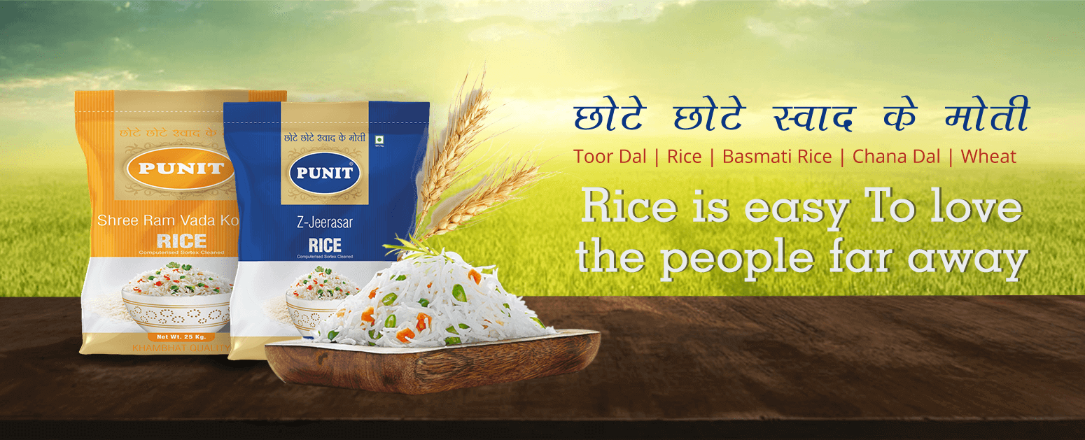 Rice is easy To love the people far away